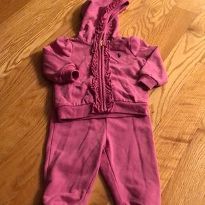 Super soft Ralph Lauren sweatsuit
